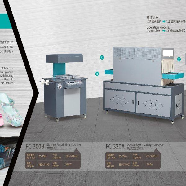 3D shoes transfer printing machine.1